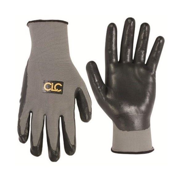 CLC Custom Leathercraft 2033M Nitrile Gripper Gloves, Large