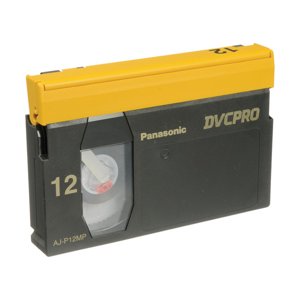Panasonic DVCPRO 12-Minute Video Cassette - Medium