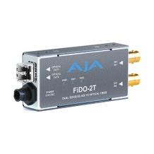 AJA 2-Channel 3G-SDI to Multi-Mode LC Fiber Transmitter