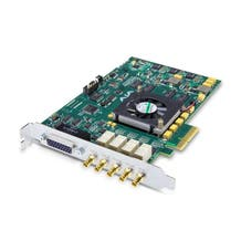 AJA Corvid 24 4-Lane PCIe Card with 4-In/4-Out or Single 4K/3G/HD/SD SDI I/O, 2x LTC, Genlock, 2x RS-422, 2x Mixer/Keyer