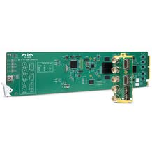 AJA OG-4K2HD openGear 4K/UltraHD-SDI to 3G-SDI Down-Converter with DashBoard support