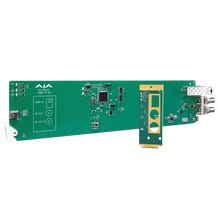AJA OG-FiDO-2R openGear 2-Channel Single Mode LC Fiber to 3G-SDI Receiver with DashBoard Support