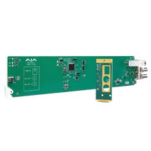AJA OG-FiDO-R-MM openGear 1-Channel Multi-Mode LC Fiber to 3G-SDI Receiver w/ DashBoard Support
