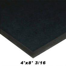 Alcan Gator Board Black 4'x8' 3/16