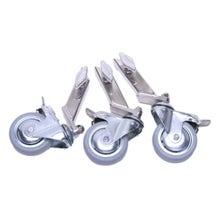American Grip 3/4″ Leg Adaptor Wheels - 3 Inches (Set of 3)
