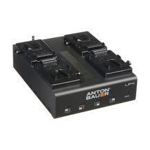 Anton Bauer LP4 Quad V-Mount Charger
