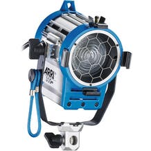 Arri 300 Watt Plus Tungsten Fresnel - White/blue