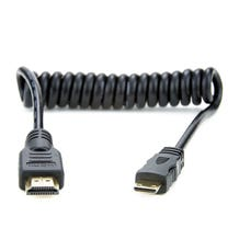 "Atomos 11.8-17.7"" Coiled Mini to Full HDMI Cable"