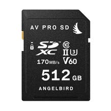 Angelbird 512GB AV Pro UHS-II SDXC Memory Card