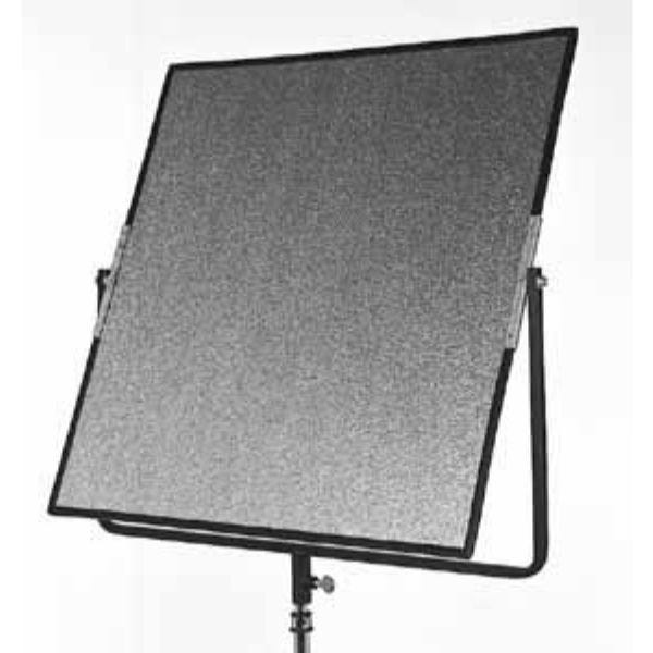 "Matthews Studio Equipment 24 x 24"" Aluminum Hand Reflector w/ Black Yoke - Silver"