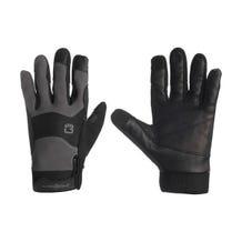 Bright Tangerine ExoSkin Leather Armour Gloves (M)