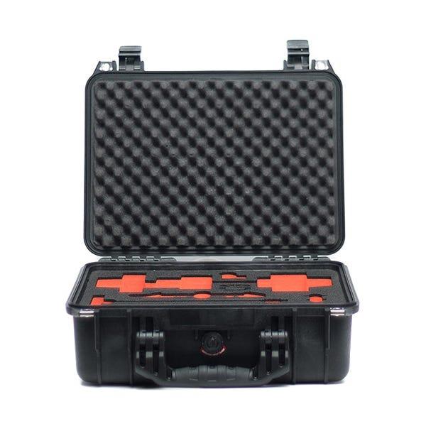 Bright Tangerine Pelican 1450 Case with Custom-Cut Foam for Revolvr Follow Focus Kit