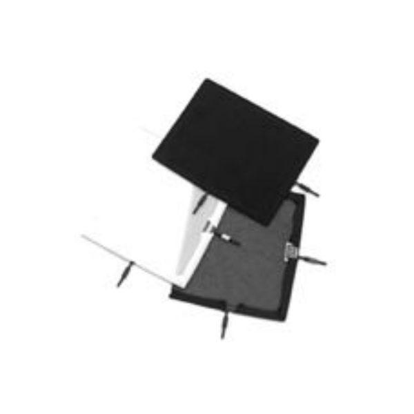 "Matthews Studio Equipment Flex Scrim - 10"" x 12"" - China Silk - Black B238127"
