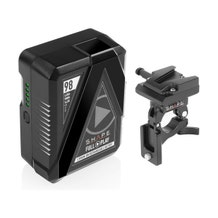 SHAPE Full Play 98Wh V-Mount Battery with Clamp for 25mm Gimbal Handlebar