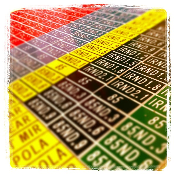 English Stix Neutral Density Tag Set - Red