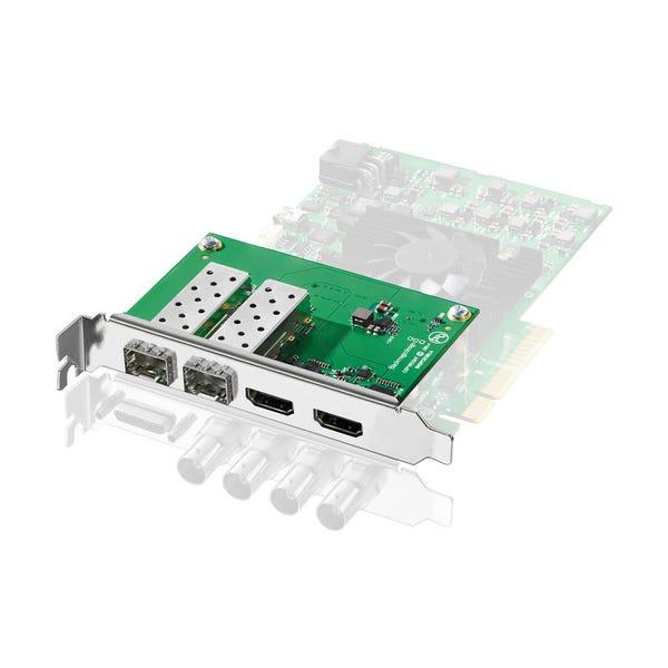 Blackmagic Design Decklink HDMI 2.0 & Optical Fiber Mezzanine Card for Decklink 4K Extreme 12G