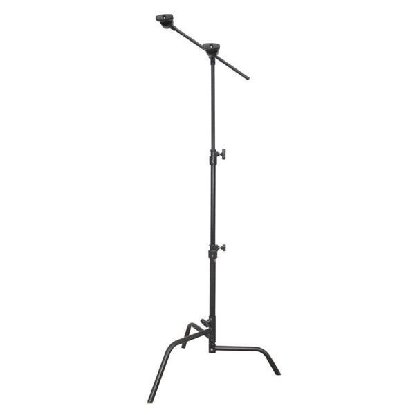 "Matthews Studio Equipment 20"" Black Hollywood Century C-Stand with Sliding Leg, Grip Head & Arm"