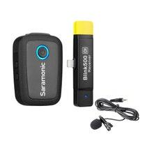 Saramonic Blink 500 B3 Digital Wireless Omni Lavalier Microphone System for Lightning iOS Devices (2.4 GHz)