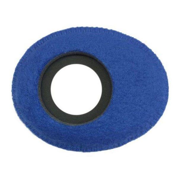 Bluestar Fleece Eyepiece Cushions - Oval Small (Blue)