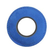 Bluestar Ultrasuede Eyepiece Cushions - Round Large (Blue)
