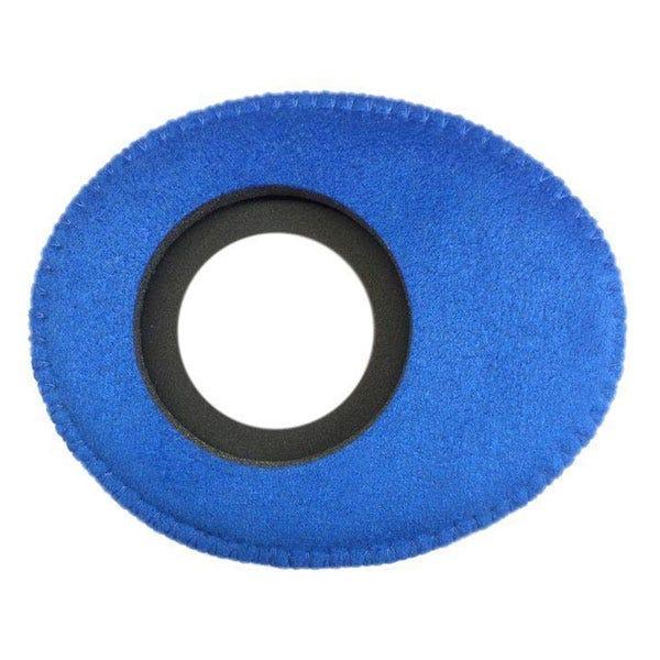 Bluestar Ultrasuede Eyepiece Cushions - Oval Long (Blue)