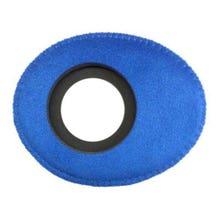 Bluestar Ultrasuede Eyepiece Cushions - Oval Small (Blue)