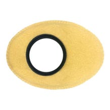 Bluestar Chamois Leather Eyepiece Cushions - Oval XL (Natural)