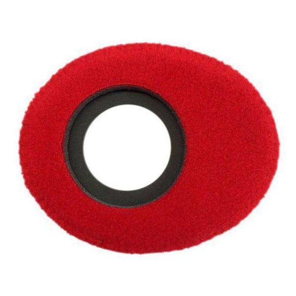 Bluestar Fleece Eyepiece Cushions - Oval Small (Red)