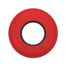 Bluestar Ultrasuede Eyepiece Cushions - Round Large (Red)