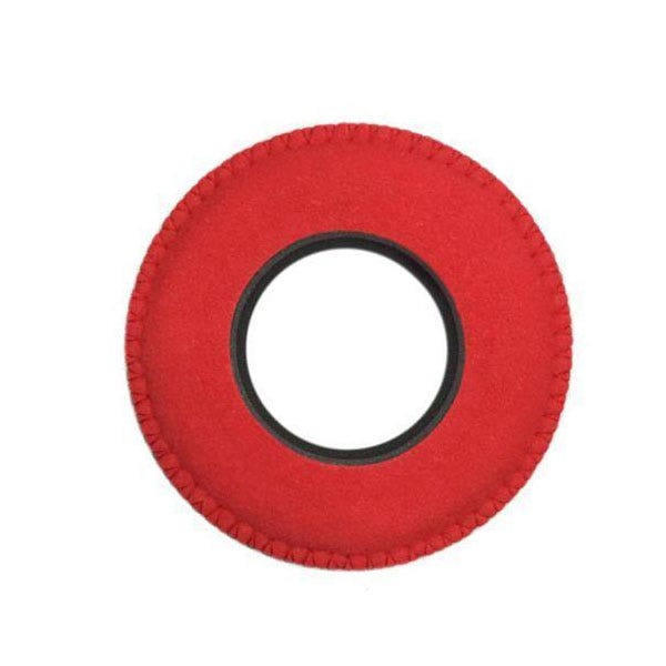 Bluestar Ultrasuede Eyepiece Cushions - Round Small (Red)