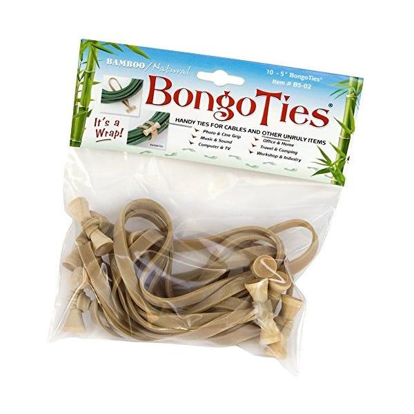 Bongo Ties Cable Ties Natural - 10 pk