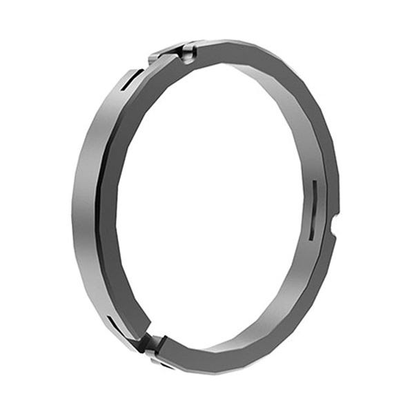 Bright Tangerine 114mm/100 mm Clamp on Ring