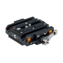 Bright Tangerine Left Field Quick Release Baseplate for Sony FX6