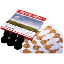 Rycote Overcovers - Black, 6-Pack, 30 Stickies