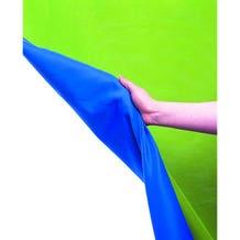 Lastolite 10' x 12' Chroma Key Reversible Blue/Green Screen Curtain