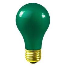 Bulbrite A19 Globe - Green (60W, 120V)