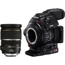 Canon EOS C100 Mark II Cinema Camera EF-S 17-55mm Kit