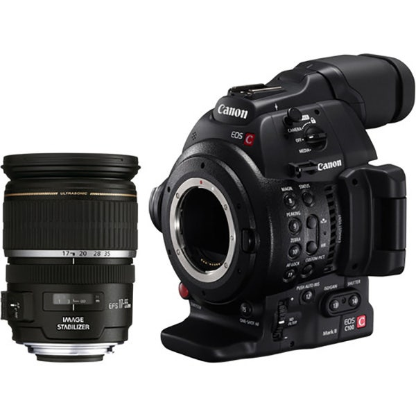 Canon EOS C100MK II Cinema Camera EF-S 17-55 Kit