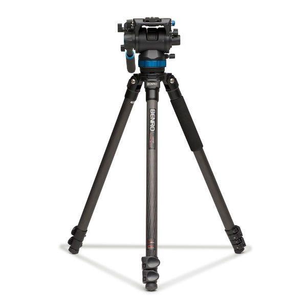 Benro C373FBS8 Carbon Fiber Video Tripod Kit
