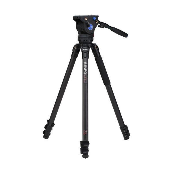 Benro C373F Series 3 Carbon Fiber Video Tripod & BV6 Head