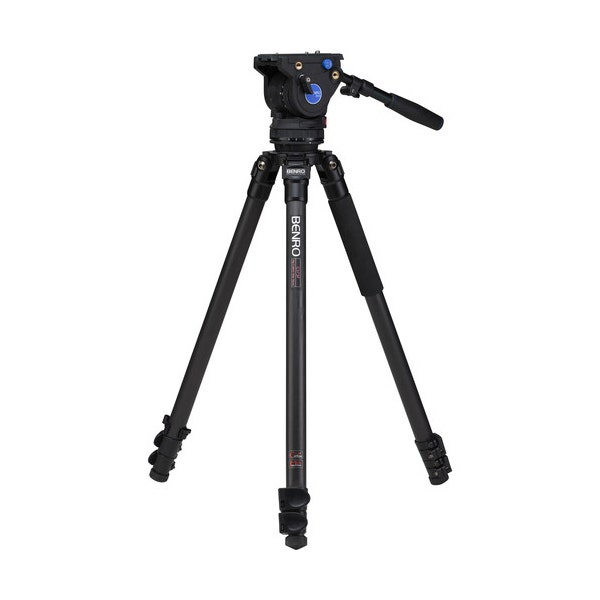 Benro C373F Series 3 Carbon Fiber Video Tripod & BV6 Head