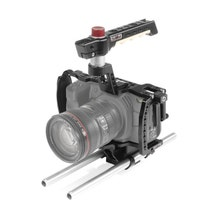 SHAPE Camera Cage with 15mm Rod System for Blackmagic Pocket Cinema 6K & 4K