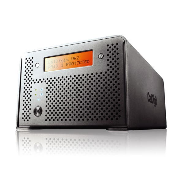 CalDigit 4TB VR2 2-Bay USB 3.0 Raid Array