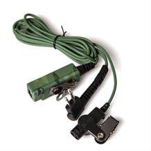 TenFour DIRECTOR-M1 2-Wire Surveillance Transceiver Headset for Motorola Radios - Camouflage