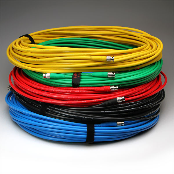 Canare 100' Digital BNC Cable - Yellow