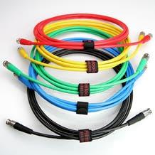 Canare 10' Digital Flex SDI BNC Cable - Green