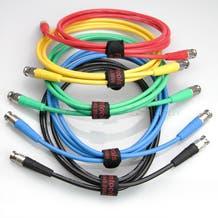 Canare 6' Digital Flex SDI BNC Cable - Green