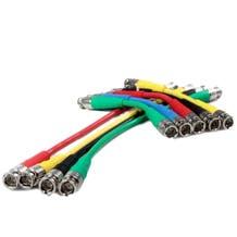 """Canare 18"""" Digital Flex SDI BNC Cable (Various Colors)"""