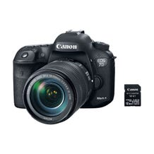 Canon EOS 7D DSLR Camera with 18-55mm IS USM Lens & W-E1 Wi-Fi Adapter