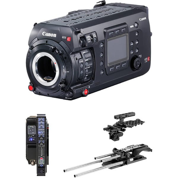 Canon EOS C700 Multidyne 4K Cinema Camera Kit